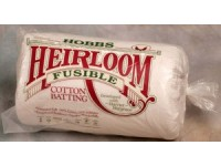 Mrs Hobbs Fusible Cotton Heirloom Wadding